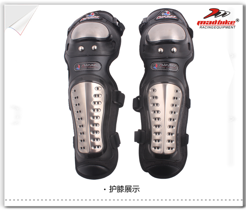 New 4 Piece/ Set Motorcycle Kneepad Motocross Motorbike Elbow & Knee Protective Knee Brace pads Protector Guard Protective Gears