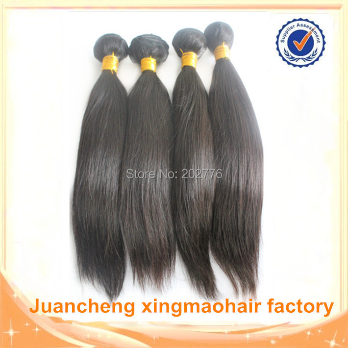FREE SHIPPING High quality human hair weave straight 3pcs One Donor Young Girl Virgin Hair Hot sale Beauty Peruvian hair 10a <br><br>Aliexpress