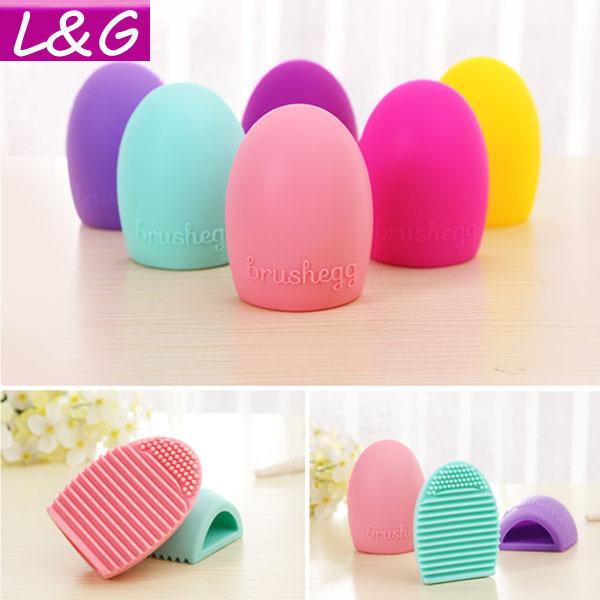 Эксклюзивный цвет 11 новый горячая распродажа Brushegg силикагель перчатки макияж ...