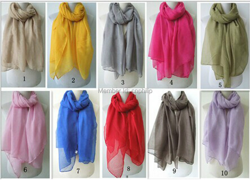 Plain maxi scarf viscose shawl pashmina hijab scarf muslim for women lady girl solid color(China (Mainland))