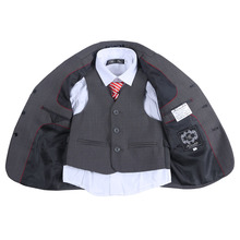 2015 Hot Sale New Children Clothes Sets Boy Suit Boys Formal Suit Blazers 3 Piece Suits