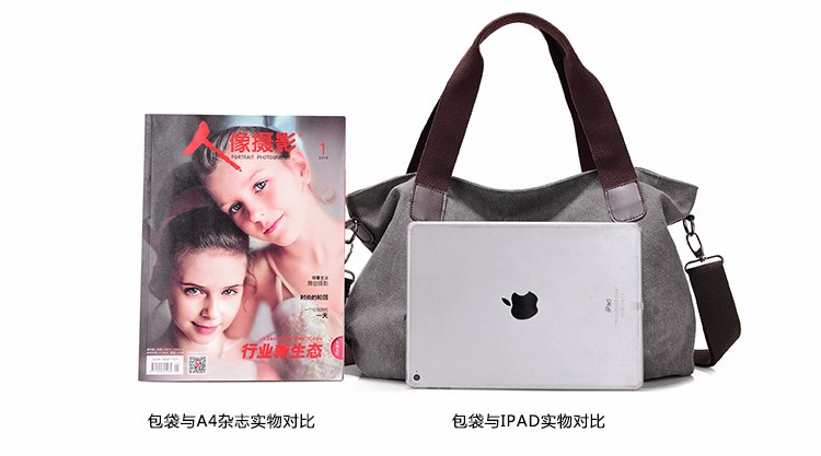 Hot 2017 Famous Designer Handbags Brand Women Canvas bags bolsa feminina Female Casual Tote Bag Fashion Hobo Ladies Shoulder bag