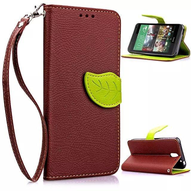 Housse PU Cuir Etui Portefeuille pour For HTC Desire 610 Flip Case Etoiles Filante Coque de Protection avec Stylet(China (Mainland))