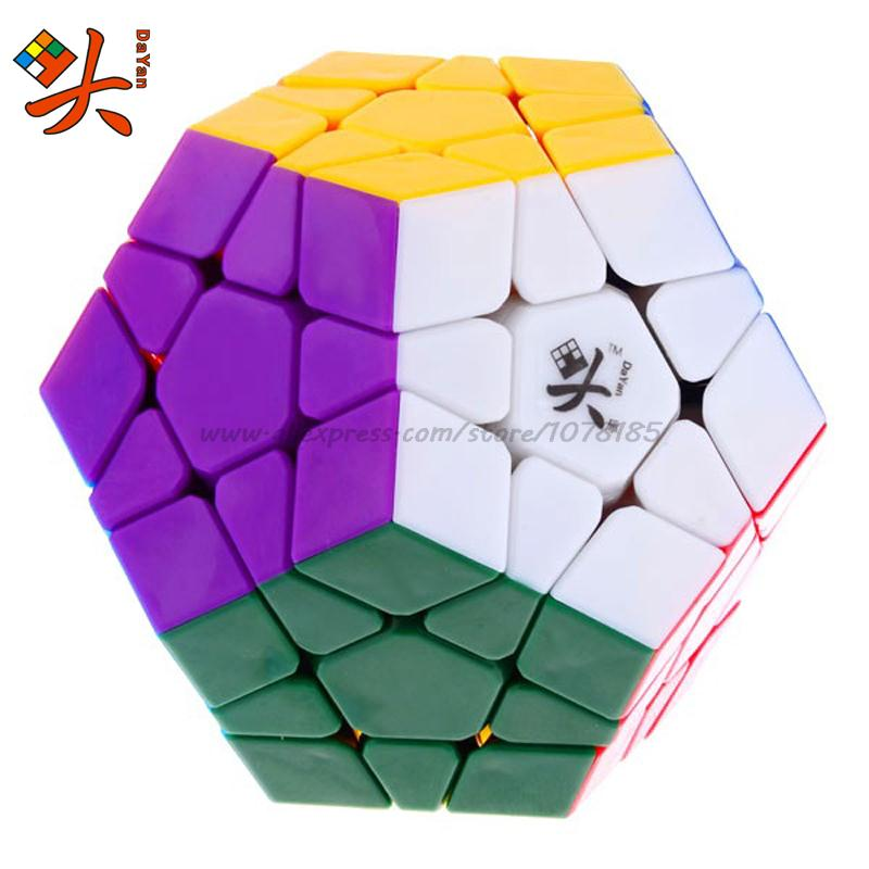 DaYan Megaminx Dodecahedron Magic Cube Speed Puzzles toy learning & education cubo magico personalizado Game cube toys(China (Mainland))