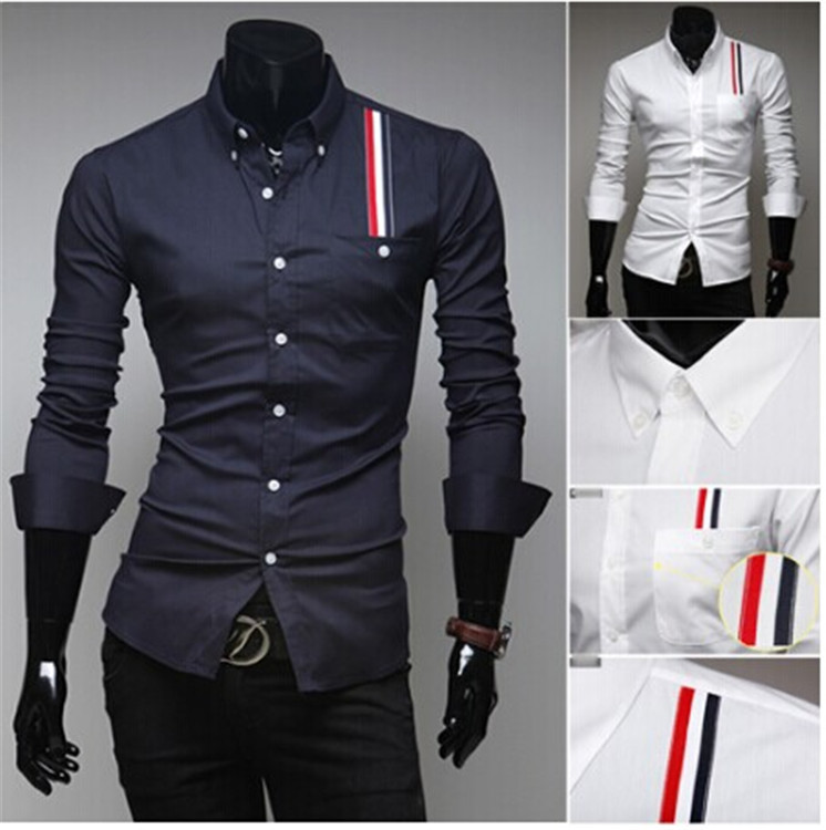 2014 Imported Clothing Spring Mens Cusual Shirt Cheap