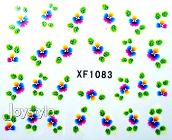 Design Nail Art Sticker,Nail Stickers Nail art Water Transfers Decal Feathers,35 sheets  Free shipping