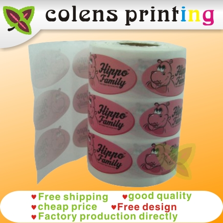 custom sticker labels printing ,sweets candy food tags,custom Coated paper gift transparent pvc / PET bottle labels sticker(China (Mainland))