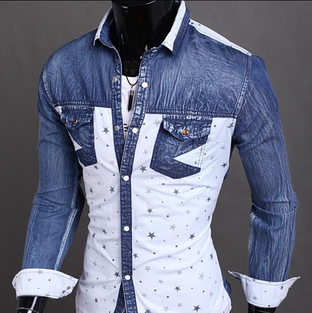 Linen Men Shirt Long Sleeve Brand Slim Fit Hawaiian Shirt Camisas Fashion Men Designer Shirt England Casual Slim Fit Cotton(China (Mainland))