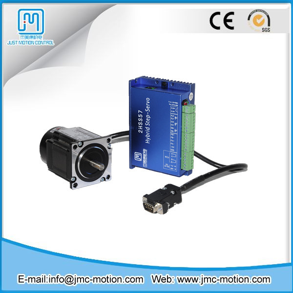 2 phase step servo motor and driver nema 23 closed loop for Stepper motor control system