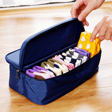 Fashion Double Open Travel Storage Bag Multifunctional Waterproof Storage Box Package Luggage Underwear Socks Tidy Organizer(China (Mainland))