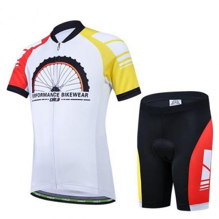 New Kid's Performance Bikewear Cycling Bike Bicycle Short Sleeve Jersey Shorts(China (Mainland))