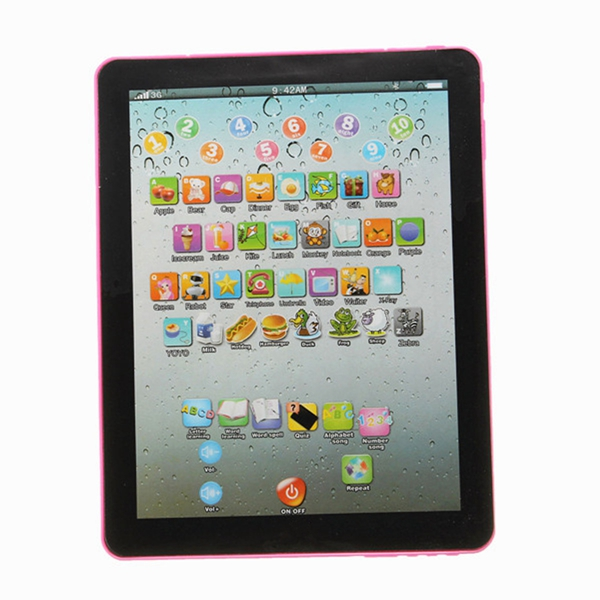 Learning Machine Education Toys Intelligent Kids Pad Laptop For Children Childrens Mini Tablet Teach Toy(China (Mainland))