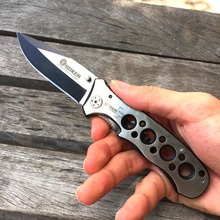 Top Quality Boker 073 Folding Blade Knives 083BS 440 Blade Steel Handle Camping Knife Hunting Outdoor