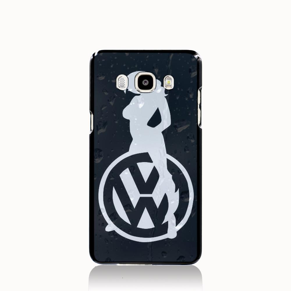 13402 Sexy Girl Logo Car VW Golf cell phone case cover for Samsung Galaxy J1 MINI J2 J3 J7 ON5 ON7 J120F 2016(China (Mainland))