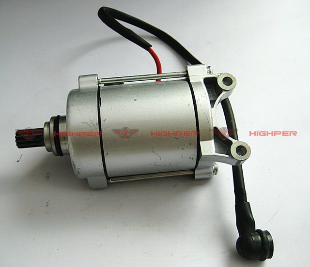 electric starter motor, start moto, 11 tooth for 200cc and 250cc atv+free shipping