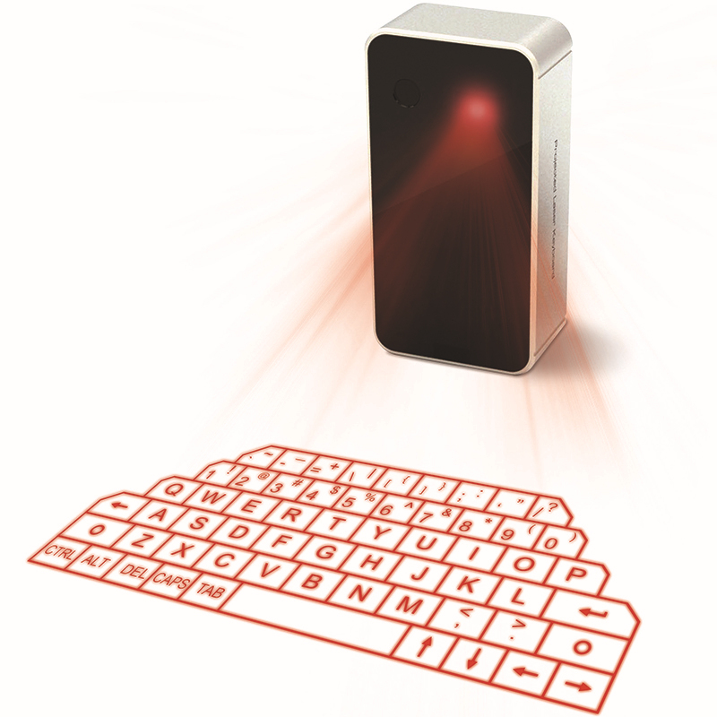 Virtual Laser Projection Wireless Bluetooth Keyboard Mini Mouse and Speaker for PC Tablet Laptop iPhone(China (Mainland))