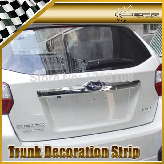 New Car Styling For Subaru XV Trunk Adornment Chrome Boot Decoration Sticker Car Accessories<br><br>Aliexpress