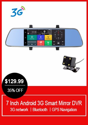 5.0 inch Touch Bluetooth Rearview Mirror Android Car GPS navigation 1080P car dvr Dual camera FM gps Navigator Radar Detectors
