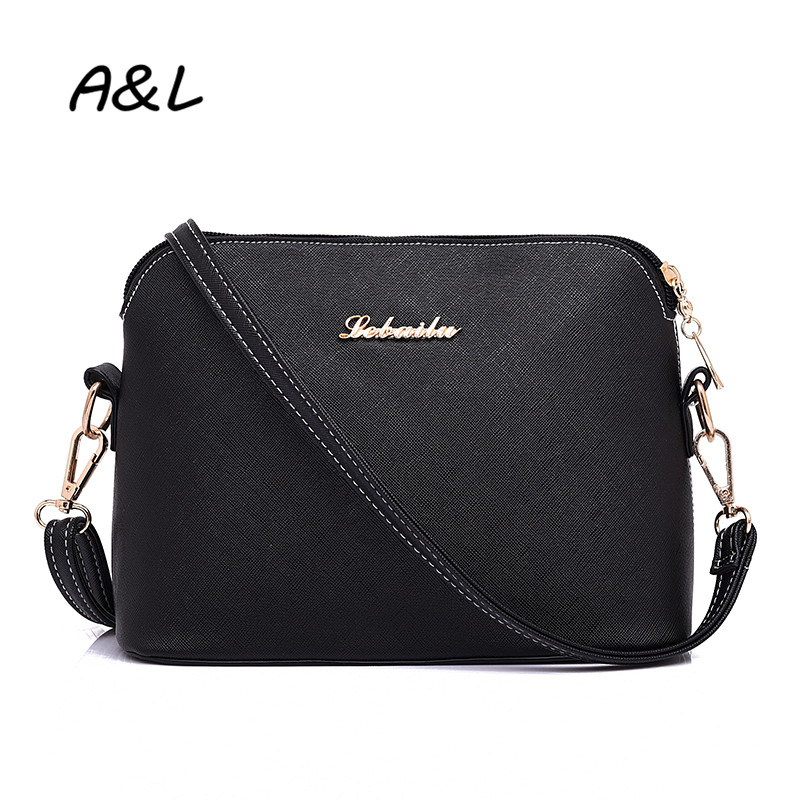 Women New Fashion Vintage PU Leather Crossbody Bag Lady Sweet Small Shell Shoulder Messenger Bag Casual Outdoor Package A0033(China (Mainland))