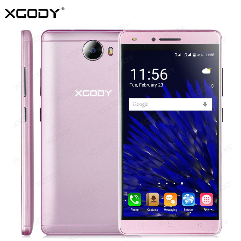 XGODY Smartphone 5.0 inches Android 5.1 Quad Core RAM 512MB ROM 8GB Dual Sim Cards Mobile Phone with Phone Case(China (Mainland))