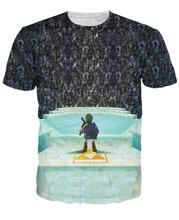 3D Funny Game t shirt men women harajuku T-shirt fashion causal summer tees brand fitness short sleeve shirts camisa Alisister(China (Mainland))
