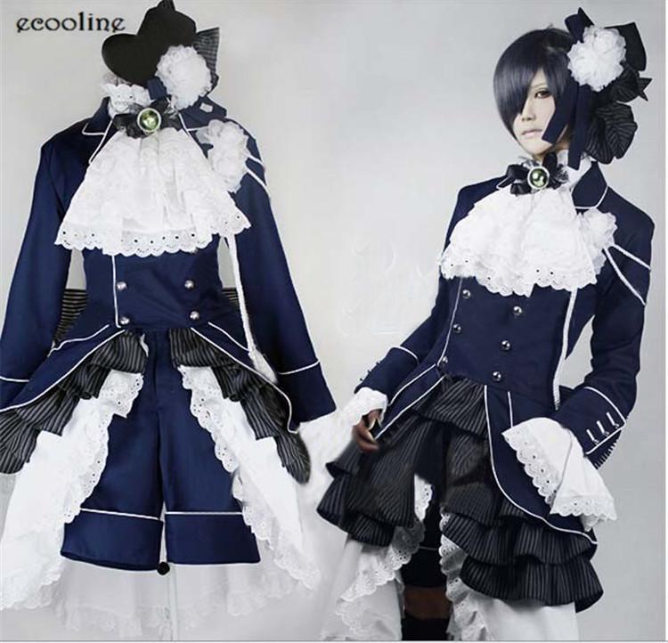 Online kaufen gro handel ciel phantomhive cosplay aus for Butlers ausverkauf