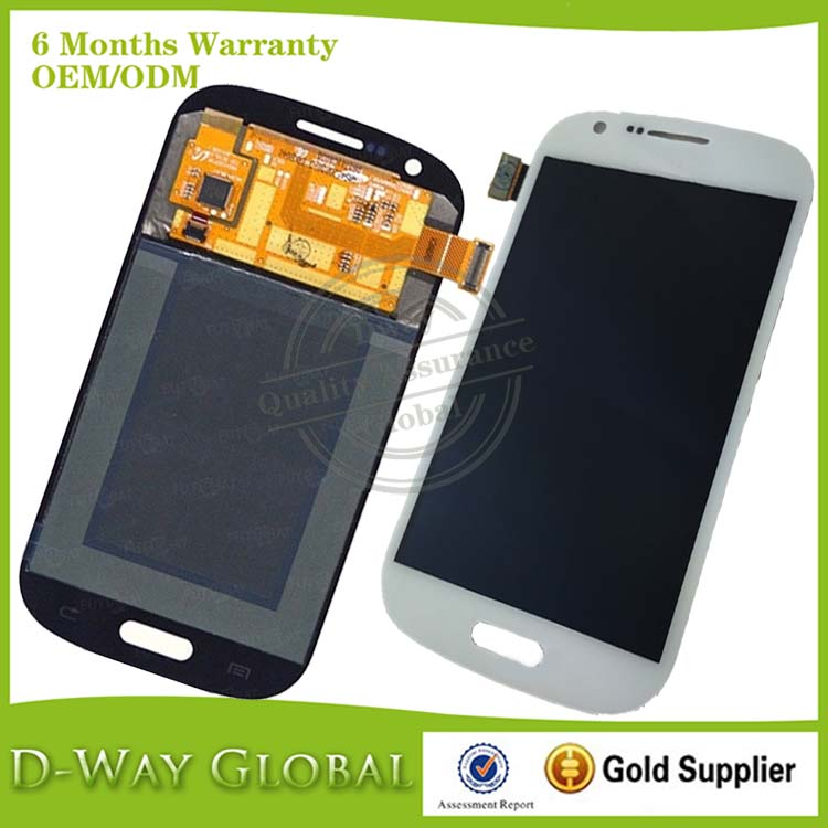Free shipping White LCD Display For Samsung Galaxy Express i8730 LCD screen touch digitizer replacement Tested one by one