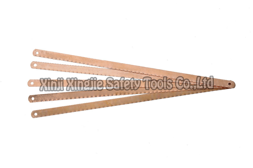 hacksaw blade 300mm, non sparking,non magnetic, safety tool,(China (Mainland))