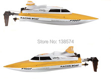 Free shipping Remote control boats Feilun FT007 Upgraded 2.4G remote control toys 4CH Water Cooling High Speed RC Boat(China (Mainland))