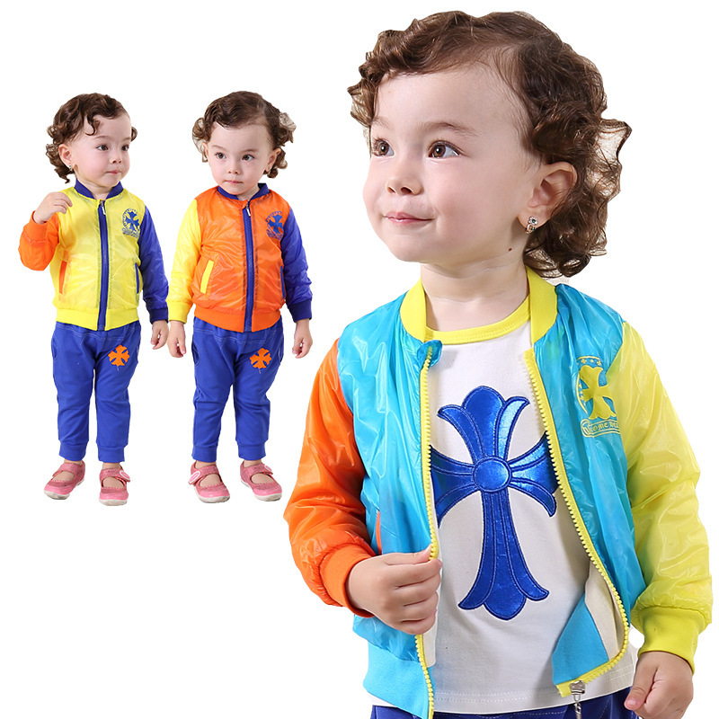 2015 Special Offer Roupas Meninos free Shipping Fall New Baby's Clothes Set Sun for Suit Brand Newbron Baby Clothing(China (Mainland))