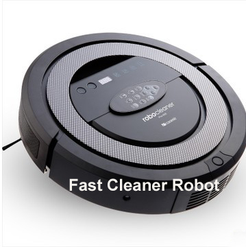 (Free To Russian)Newest High Class 6 In 1 Multifunctional Robot Vacuum Cleaner With Double V-shaped Rolling Brush,Sonic Wall(China (Mainland))