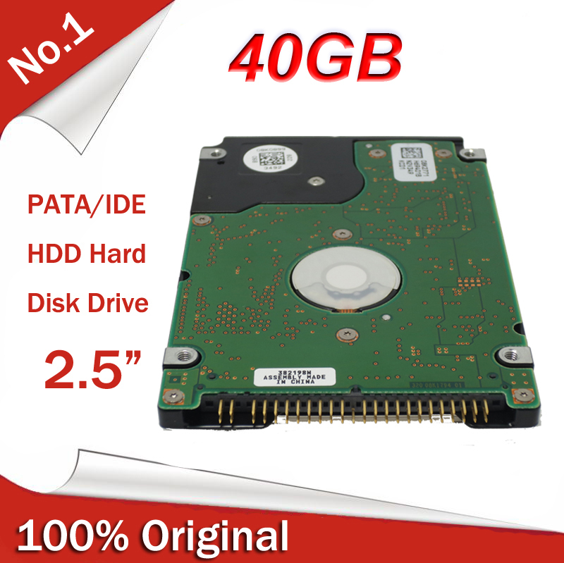 """All New 2.5"""" HDD IDE PATA 40GB 5400RPM 8M Internal Hard Disk Drive for laptop notebook all brands Free Shipping(China (Mainland))"""