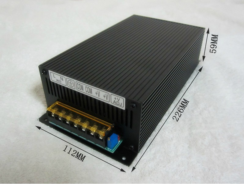 220V to12V 15V 24V 30V 36V 48V 60V 70V 80V 90V 110V, 500W Switching Power Supply , DC power adapter ,Monitor supply