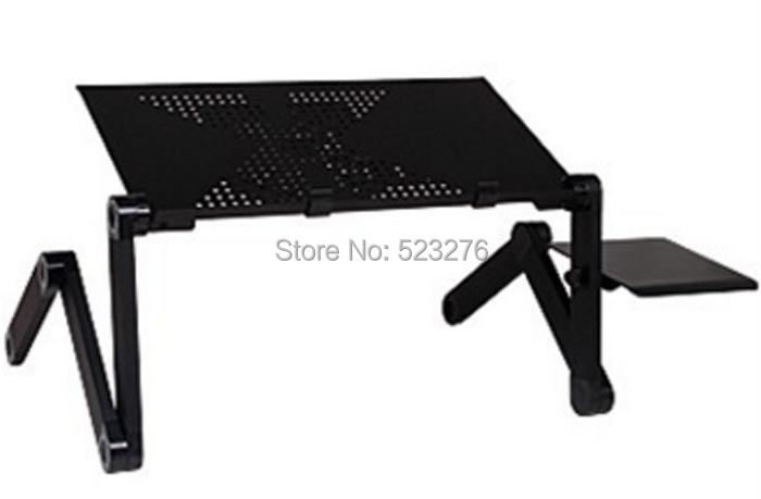 High quality Folding Table 360 Portable Folding Laptop Computer Notebook Table Stand Desk Bed Sofa(China (Mainland))