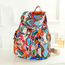 Luggage&bags Women Backpack Waterproof Nylon 16 Colors Lady Women's Backpacks Female Casual Sport Travel Bags mochila feminina(China (Mainland))