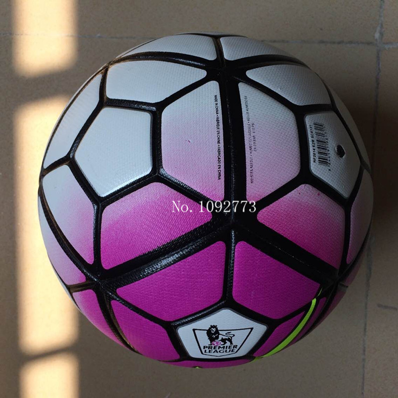 2015 new Serie A Span league Premier league Soccer ball football High Quality PU size 5 ball for match Free shipping(China (Mainland))