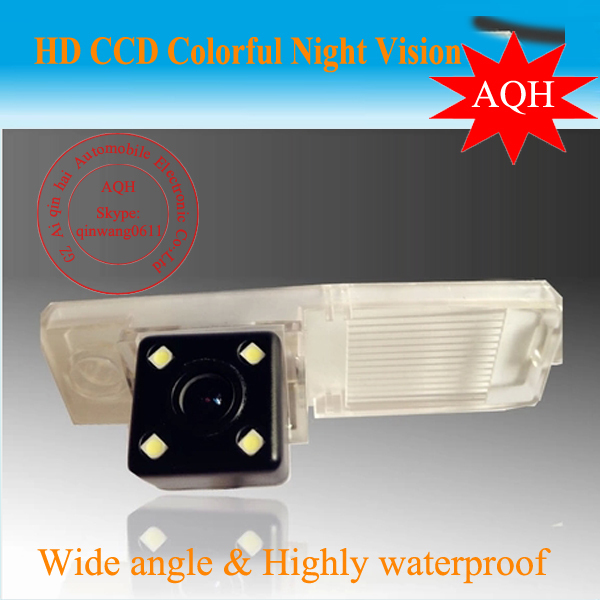 Free shipping wired HD CCD car parking rearview reverse camera for Toyota Highlander 2009/2010 night vision waterproof<br><br>Aliexpress