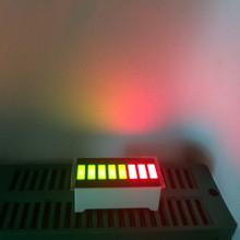 5pcs 8 Segment LED Bargraph Bi-color Green RED Brand New(China (Mainland))