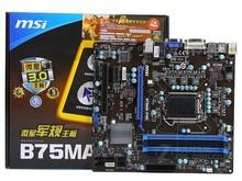 Msi b75ma-p45 b75 LGA 1155 DDR3 32 ГБ USB2.0 USB3.0 VGA материнская плата прекрасно
