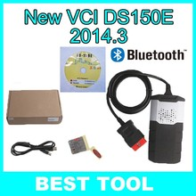 Newest 2014.R3 DS150E TCS CDP PRO 3 in 1 Diagnostic Tool with Bluetooth for CAR+TRUCK 3 in 1 Free Shipping(China (Mainland))