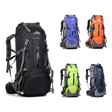 Buy 50L Large Waterproof Travel Bags Rucksack Men Nylon Outdoor Camping Hiking Bicycle Sports Backpacks Bag Women Climbing Backpack for $29.80 in AliExpress store
