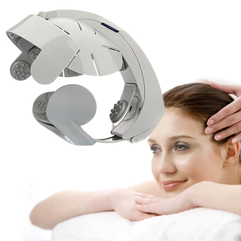 Hot Selling Electric Head Massager Brain Acupuncture Points Relax Massage for Head Massageador<br><br>Aliexpress