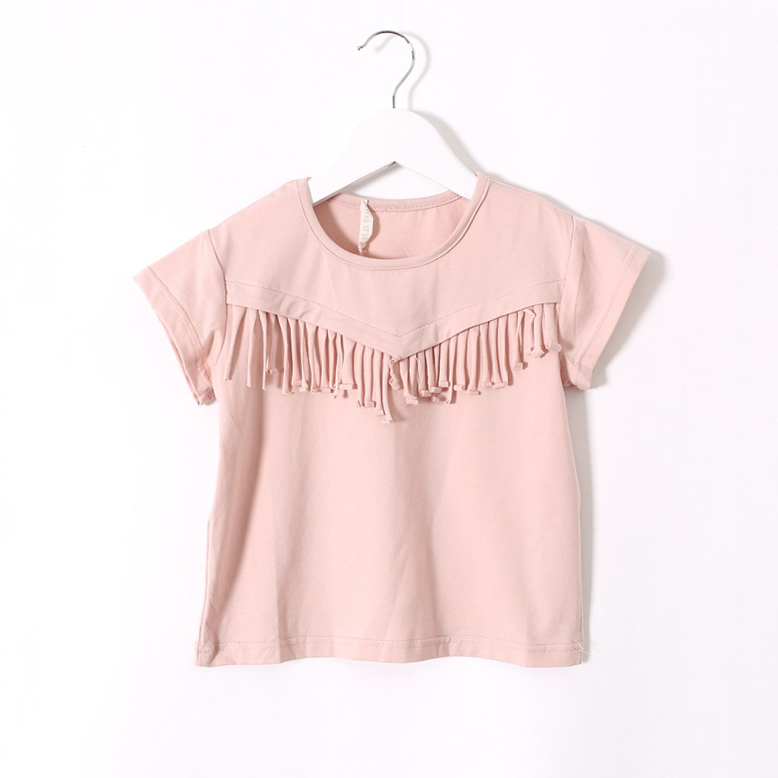 2015 summer new style baby girls short-sleeved T-shirt children kids fashion personality pretty cute tops Kids tees<br><br>Aliexpress