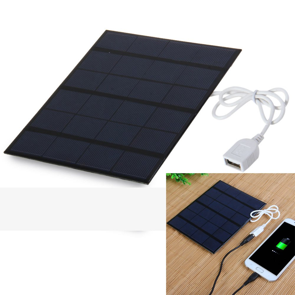 6V 3.5W Solar Power Panel Charger USB Portable Solar Charger Device Solar Panel to Phone Pad Sun Panel Solar Board Power Source(China (Mainland))