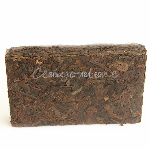 250g 20 Years Yunnan old ripe Puer Tea Nature Fragrance Puer Brick Puerh Promotion Ansestor Antique