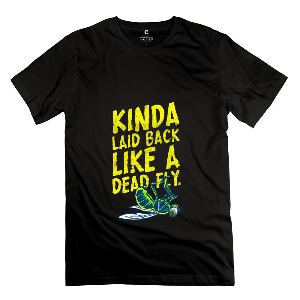 Top Designer like a dead fly Men's tshirt 2015 Nerdy Men Pre-cotton T Shirt(China (Mainland))