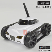 mini wifi video real-time transmission of remote control the iPhone apple android high-definition camera spy car tank(China (Mainland))