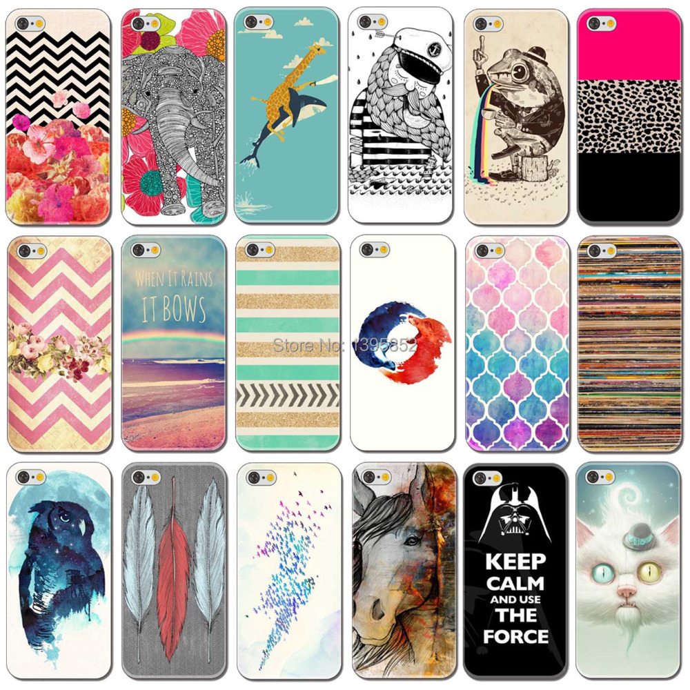 Year Fashion Painted Hard Cover Case Apple iPhone 6 6s Plastic Phone - bigbigxuan Official Store store