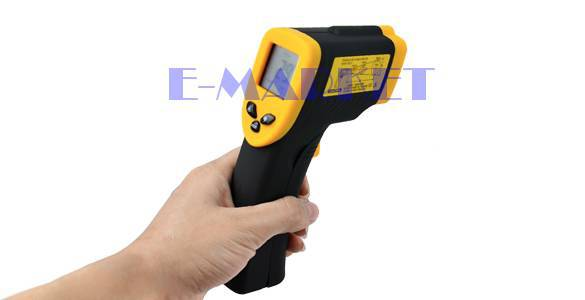 Гаджет  NEW digital Infrared Laser IR Temperature Thermometer tester Non Contact Infrared Clinical Laser Gun LCD -50~380C Free Shipping None Инструменты