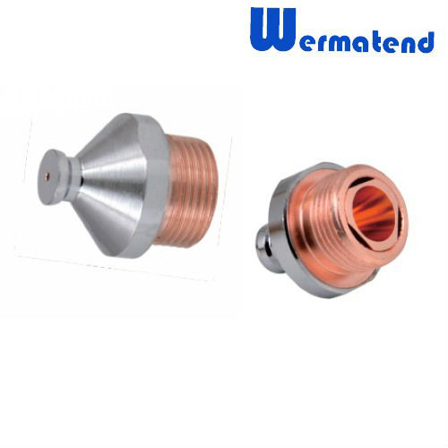 1pcs Free shipping Laser cutting nozzle for Amada laser machine External thread connection and High quality Imports of copper